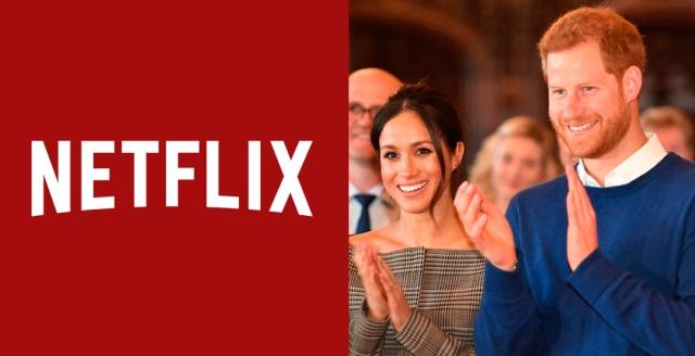 El príncipe Harry y Meghan Markle en la mira de Netflix