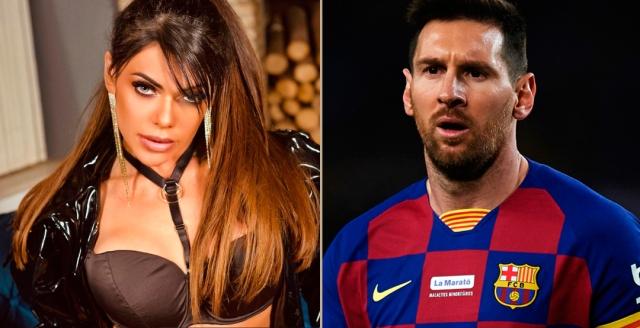 Suzy Cortez se tatuó el rostro de Messi en zona hot de su cuerpo