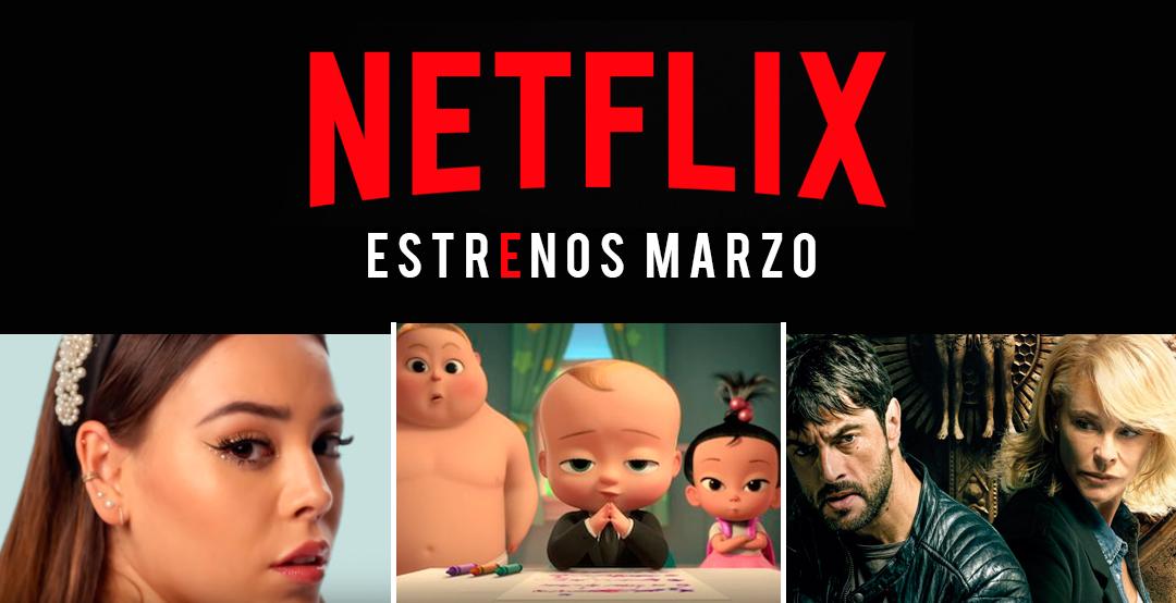 Estos son los estrenos de Netflix para marzo 2020